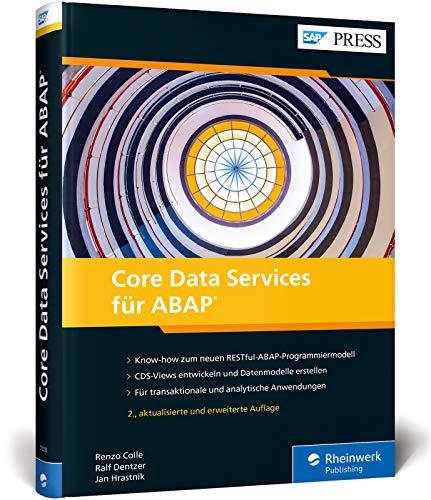 Core Data Services für ABAP: CDS-Views und Datenmodelle für SAP S/4HANA (SAP PRESS)