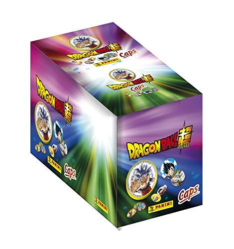 Panini France SA 004106BOX26F Boite de pochettes soit 156 et slammers Dragon Ball Super Caps – Box mit 26 Taschen