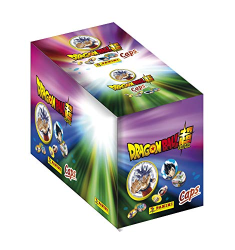 Panini France SA- Caja con Fundas para 156 Caps y 26 eslammers Dragon Ball Super, 004106BOX26F