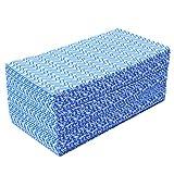 CLEAN LEADERカウンタークロス 不織布ふきん 雑巾 キッチンクロス 台拭き、ブルー 約30㎝×51㎝ 使い切りの 不織布 ふきん 80枚入