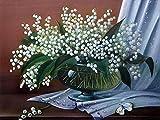 Planta pintura de diamantes flor bordado de diamantes florero florero kit de punto de cruz mosaico de diamantes kit de diamantes de imitación de arte hecho a mano A5 40x50cm