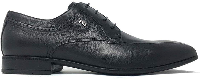 noir Giardini Chaussures élégantes pour Homme en Cuir Noir