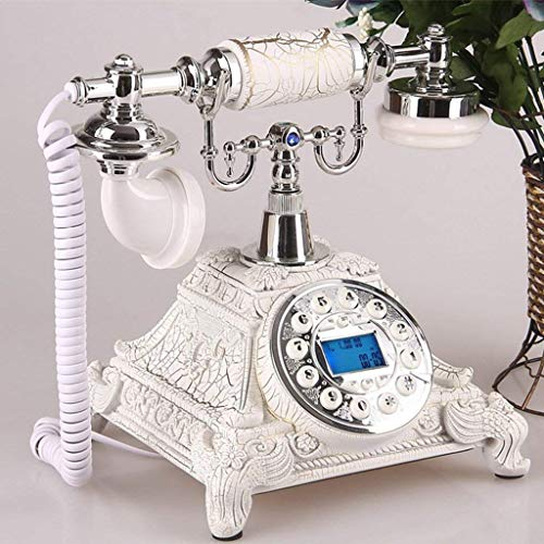 HYLH Telefonapparate, alte Telefon europäischen Mode kreative übersicht/Telefon/top/Taste 25,5x17,5 cm x Produkt Handy (Farbe: # 1)