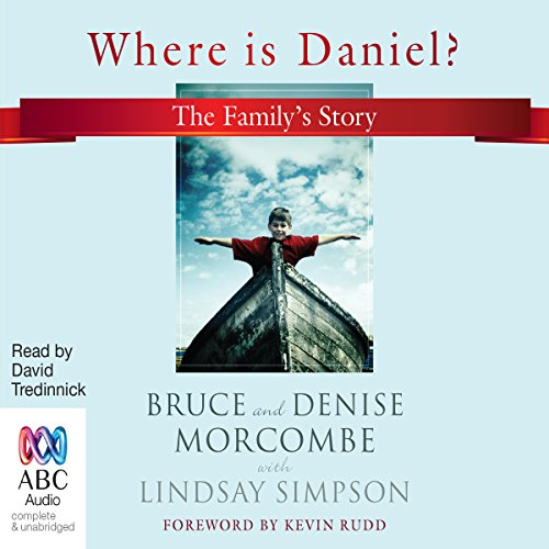 Where Is Daniel? audiobook cover art