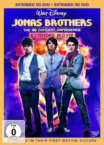 Jonas Brothers - Das ultimative 3D Konzerterlebnis (Extended 2D DVD + Extended 3D DVD) [Limited Edition]