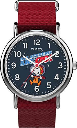 Timex Unisex x Peanuts - 38 mm Fabric Strap Watch TW2T82600