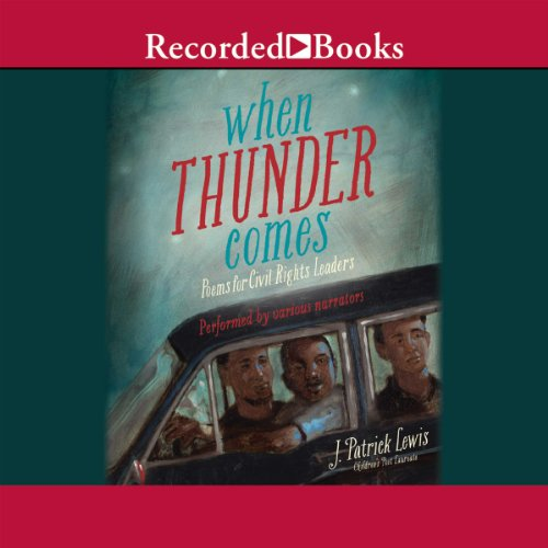 When Thunder Comes audiobook cover art