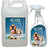 ECOS Earth Friendly Pet Stain & Odor Remover 128oz (Gallon) + 22 oz Combo