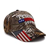 "METERIAL: 65% Cotton 35% Polyester Metal INCLUDES: 1 Styles ""Trump 2020"" Camouflage Cap Trump Hat. SIZE: Adjustable Buckle 6 Panel Hat 23 Inches Adjustable and comfortable one size fits all NICE & INSPIRING HAT : Make America Great Again Hat MAGA KAG..."
