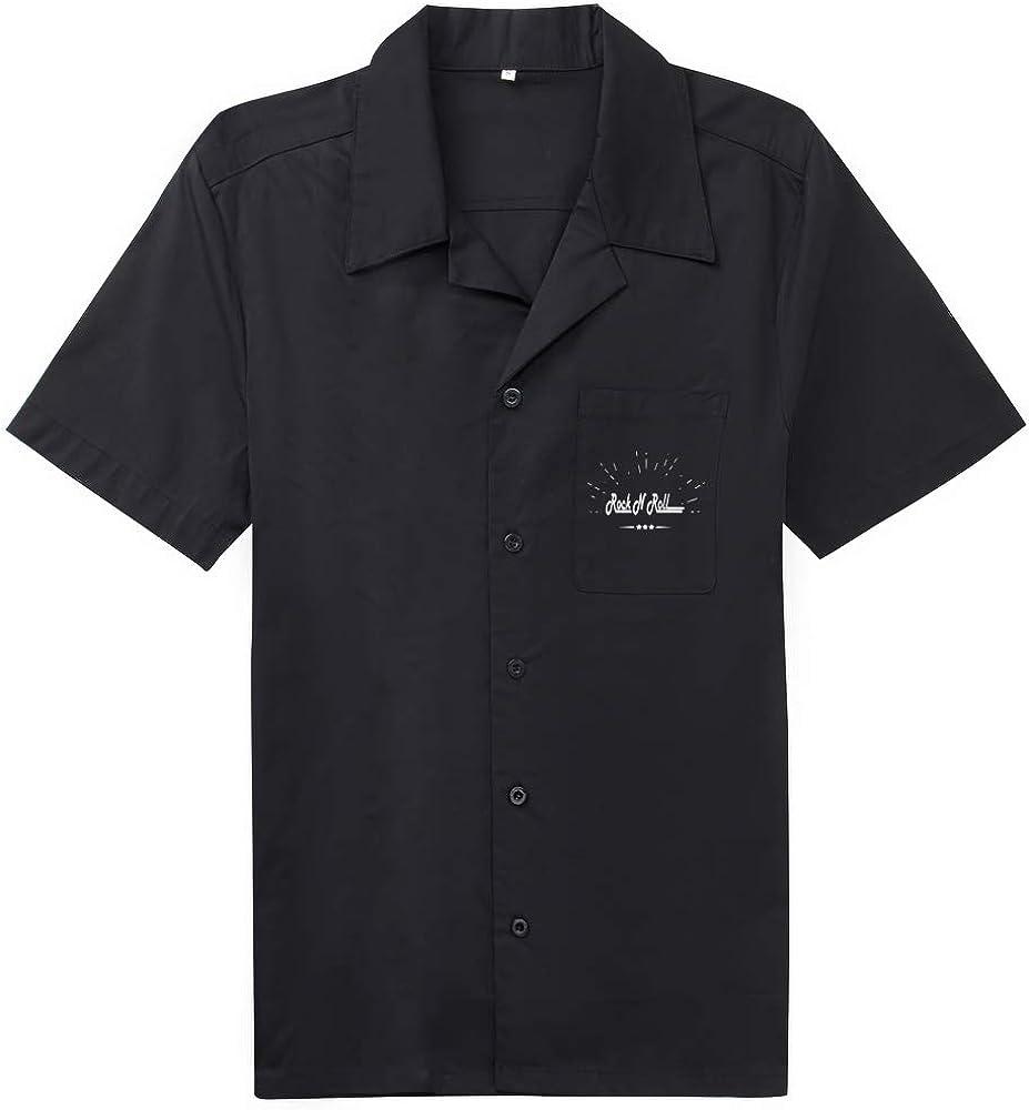 Candow Look Work-Shirts Bordado Hombres Casual Camisa ...