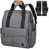ALLCAMP Baby Wickelrucksack Wickeltasche mit Wickelunterlage Multifunktionale Unisex Babytasche große Kapazität für Unterwegs