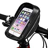 Bike item 6.3 pulgadas pantalla táctil Bicicletas Bolsas,Impermeable MTB Ciclismo bicicleta cabeza tubo bolsa, manillar bicicleta teléfono celular bolsa caso titular