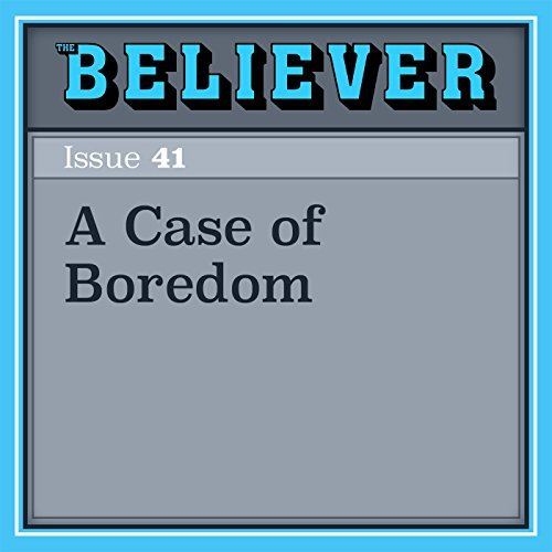 A Case of Boredom audiobook cover art