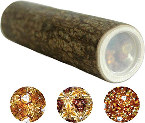 Bernstein Kaleidoskop, Holzspielzeug, original Design aus Haselbaum, natürliche Materialien, Spielzeug, Geschenk