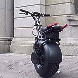 ZDW Silla de ruedas 1Kw Monociclo eléctrico Carretilla Monociclo eléctrico Baranda Varilla Sección todoterreno Hot Wheels Marte Autobalanceo Carrocería Coche Adulto