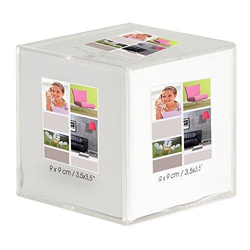 Imagine 07060500 Cristàl Beà Marco para Mesa en Forma de Cubo de 9 x 9 cm