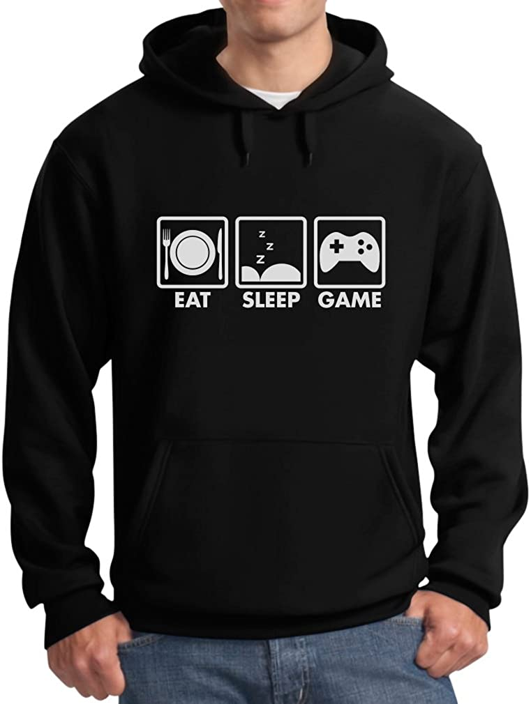 Special sale item Eat Sleep Game - Gift Popular product Hoodie Gamer Men's for Gaming