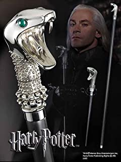 The Noble Collection Harry Potter Lucius Malfoy's Walking Stick Finished Product Figure Parallel Import Goods