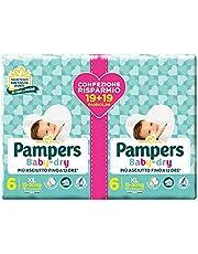 Pampers Baby Dry 15-30 kg, verpakking met 38 stuks
