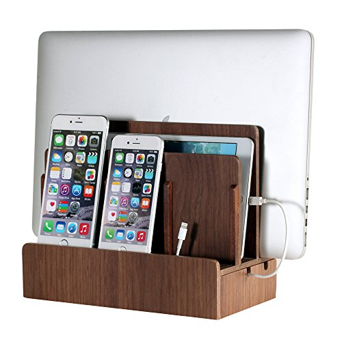 G.U.S. Multi-Device Charging Station Dock & Organizer - Multiple Finishes Available. for Laptops,...