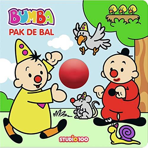 Bumba : kartonboek met rollende bal - Pak de bal !