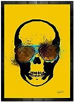 アートショップ フォームス ブランドオマージュアート/クレイグ・ガルシア cgtkg02 ポスター (ブラック)