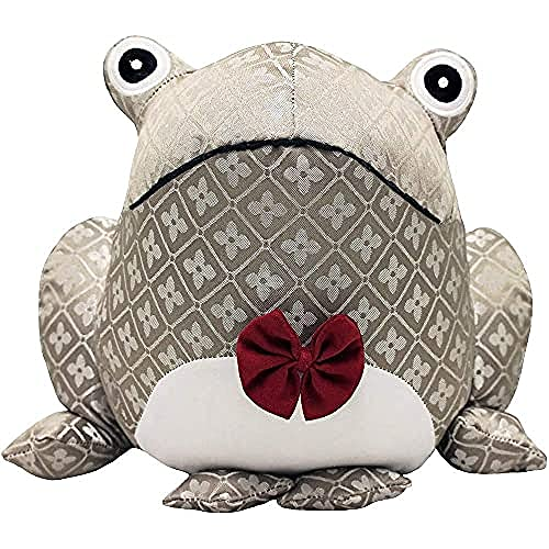 "Riva Paoletti Jacquard Frog Doorstop - Heavyweight Sand Filling - 100% Polyester - 25 x 18 x 21cm (10"" x 7"" x 8"" inches) - Designed in The UK"