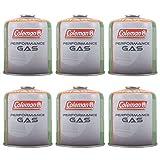 Coleman 6x C500cartucho enroscable 440g Válvula gas cartucho eléctrica Butano Propano