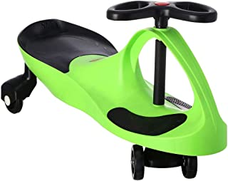 Feilun Plasma Ride-On Car for Kids - Green and Black