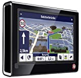 Falk F12 3rd Edition Navigationssystem inkl. TMC Pro (10,9 cm (4,3 Zoll) Display, Kartenmaterial Europa 44, Bluetooth, Fahrspurassistent, StadtAktiv) schwarz