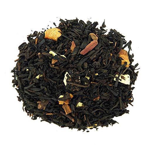 The Whistling Kettle Cinn-O-Bunn Tea - Naturally Caffeinated Flavored Black Sweet Tea with Cinnamon, Cloves, and Yogurt Bits- 4oz (76 servings)