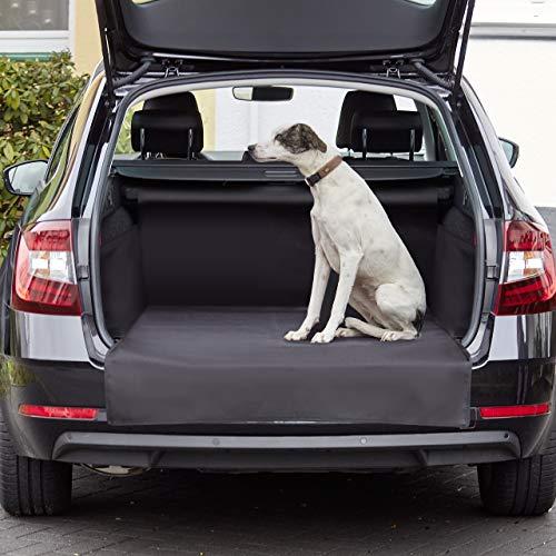 Lighthouse Premium Kofferraumschutz Hund - Kofferraum Schutzmatte - Hundedecke Auto mit Stoßstangenschutz Hund - Hundedecke Wasserdicht - rutschfest Reißfest Pflegeleicht