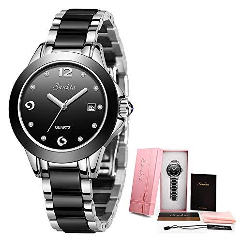SHOUB New Rose Gold Watch Donna Orologi al Quarzo Ladies Top Brand Donna Orologio da Polso Girl Clock Wife Gift Zegarek Dami