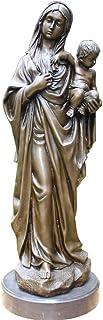 Individualité modèle éducatif Statue de madone Religieuse, Sculpture de la Vierge Marie Grande pelouse de Jardin Art déco ...
