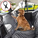 Vailge Dog Seat Cover for Back Seat, 100% Waterproof Dog Car Seat Covers with Mesh Window, Scratch Prevent Antinslip Dog Car Hammock, Car Seat Covers for Dogs, Dog Backseat Cover for Cars,Standard