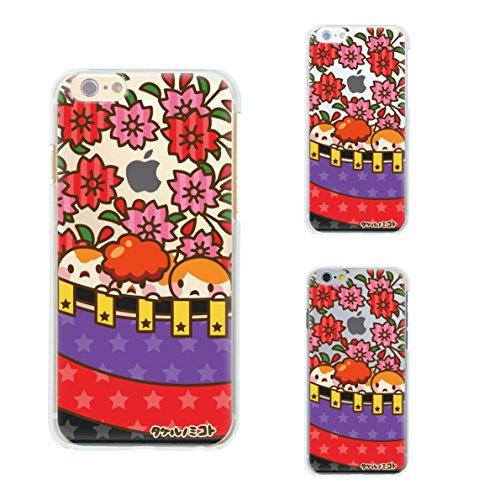 iPhone6 Plus 5.5 inch iphone ソフトケース ケース カバー スマホケース クリアケース Clear Arts 花札 桜 45-ip6p-tp0007