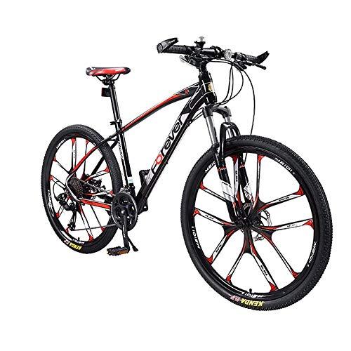 TIANQIZ Mountainbikes Mountainbike Einrad Mann Offroad 30-Gang Variable Geschwindigkeit Ultraleichtes Adult Double Shock Absorbers Fahrrad Scheibenbremse Adult Bicycle