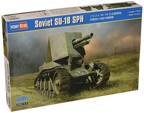 Hobby Boss 83875 – Modèle Kit Soviet su de 18 SPH