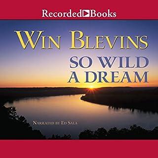 So Wild a Dream audiobook cover art
