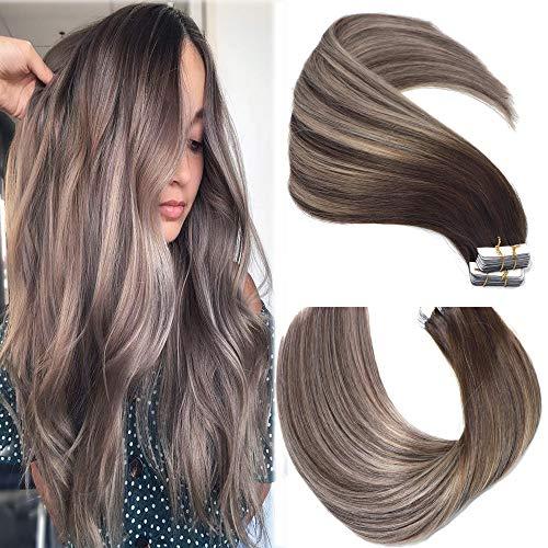 Huayi- Mushroom Brown Hair Extensions