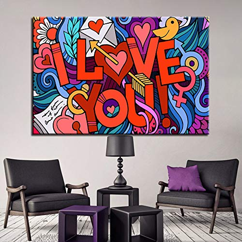 1000 Piece Jigsaw I love you pictures Puzzle Challenging Educational Puzzle Family Challenge Game Gift for Adults and Kids with Exquisite Color Box 50x75cm