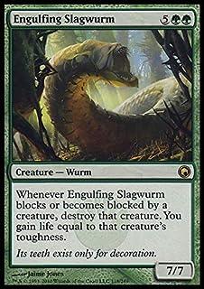 Magic: the Gathering - Engulfing Slagwurm - Scars of Mirrodin
