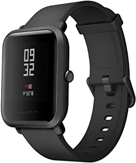 Xiaomi Mi Amazfit Bip Watch Huami Smart Band with Heart Rate Monitor Pedometer(Black)