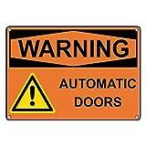 OSHA Señales de Advertencia de Puertas automáticas y...