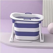 CDPC Volwassen draagbare opvouwbare badkuip, opvouwbare badkuip, groen, paars, roze, sparen ruimte, geschikt voor klein ap...