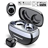 Trogonic TE1 Wireless Earbuds Bluetooth 5.0, IPX5 Waterproof Bluetooth Earbuds TWS+ 5.0 Cobblestone Design Charging Case, MCsync Deep Bass in-Ear with Silicon Mic Binaural Call Headphones for Sport