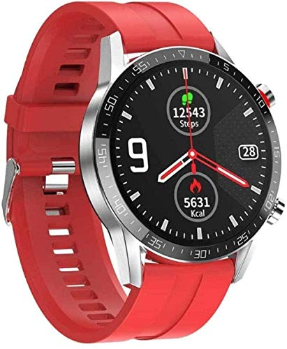 JSL 1.3 Full Touch IP68 impermeable Fitness Tracker reloj inteligente con Bluetooth llamada ECG Monitoreo ritmo