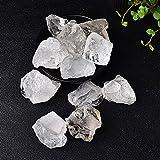 YSJJAXR Piedra de Cristal Natural Natural Blue Moonstone Stone Labradorite Cristal áspero Especímenes Minerales Decoración para el hogar Decoración de Piedra de Acuario