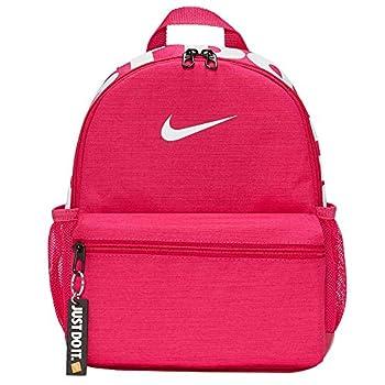 Nike Y Brsla JDI Mini Sac à Dos Mixte, Fireberry/Fireberry/White, Taille Unique