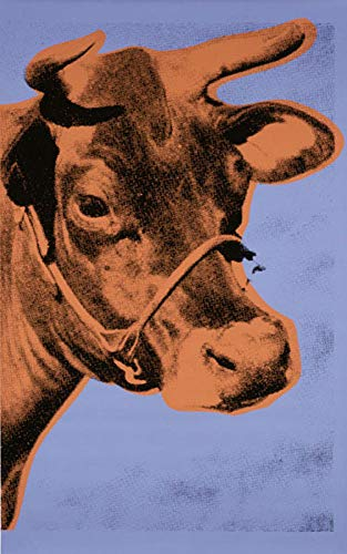 1art1 120398 Andy Warhol - Cow, 1971 (Purple & Orange) Poster Kunstdruck 48 x 33 cm